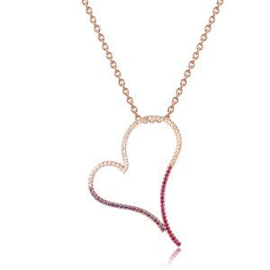 Jewelry - 925 Sterling Silver Heart Pendant